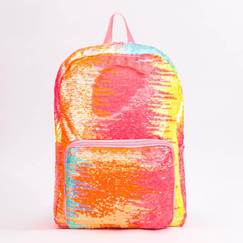 Backpack Sequin bling School Bag Matagofie Glitter Tusi Pusa Faigamalaga Daypacks mo Tamaitai Tamaiti Teine