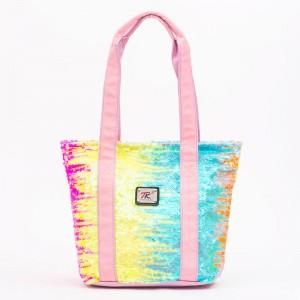 Large Beach Bags Women Summer Shoulder Bags Handbags with Zipper Top Closure Shoulder Bag For Gym Beach Travel Shopping