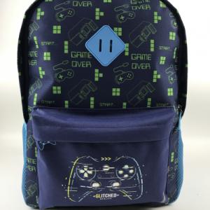 Gamer boy backpack bts styles basic cool large capacity bag backpack blue color for school