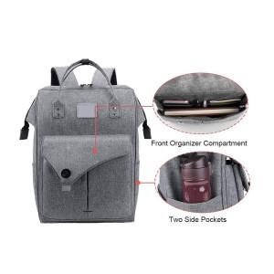 15.6 Inch Work Laptop Backpack Computer Backpack Business Backpack Water Repellent Travel Backpack