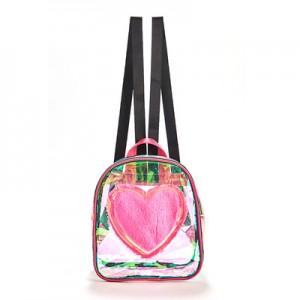 Backpack Holographic School Bag Summer Jelly Waterproof Bookbag for Girl Kids