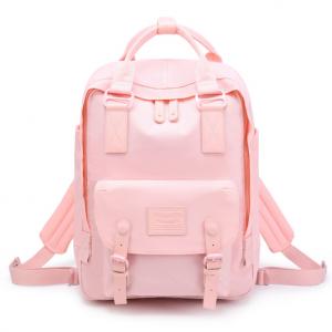 2020 New fashion waterproof school canvas bag for girls