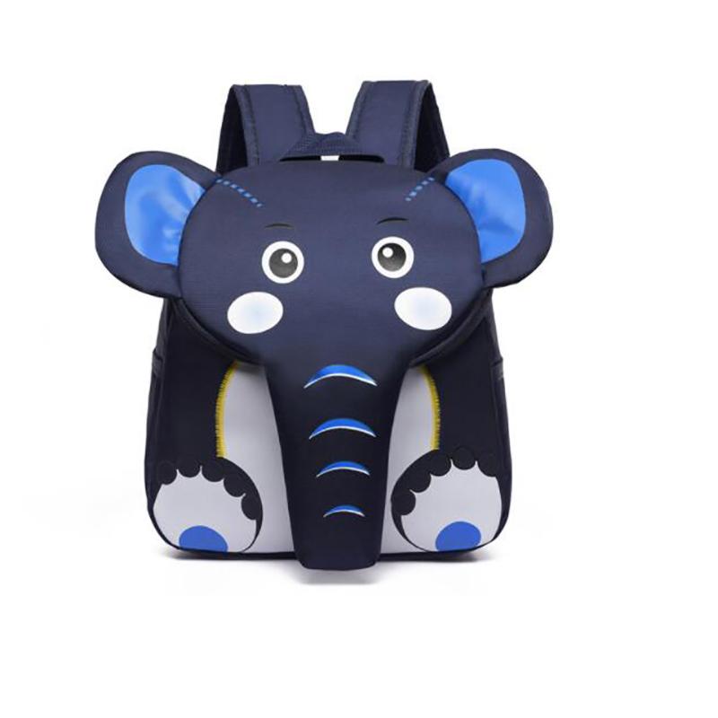 2020 Elephant School Backpack for Children Cute 3D Animal Designer Kids School Bags Boys Girls Schoolbag plecak szkolny Featured Image