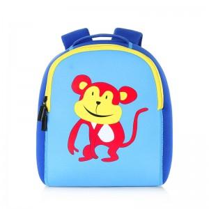 2020 Animal new cartoon cute coloring fashion child kids neoprene backpack for girls boys