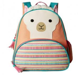 Cute Kid Animal Toddler Backpack Harness Reins Alpaca Pig Fox Leopard Face Preschool bag