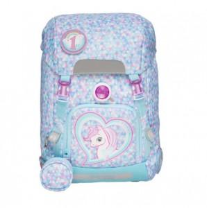 Hard shell Children Schoolbags Mermaid Unicorn Pupils Ridge Decompression Rainproof Backpack