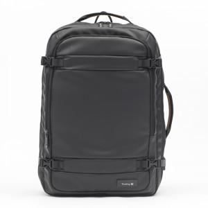 Backpack gliniadur teithio gyda phorthladd gwefru USD a backpack cyfrifiadur mawr
