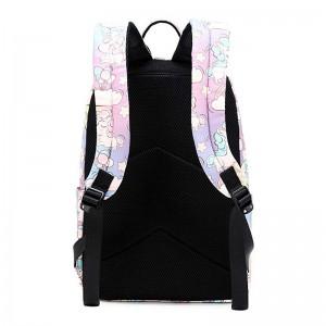 Cute Lightweight School Boobag Kids Unicorn Backpacks for Girls Backpacks with Lunch Bag