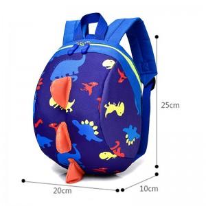 New arrival kids dinosaur backpack toddler leash