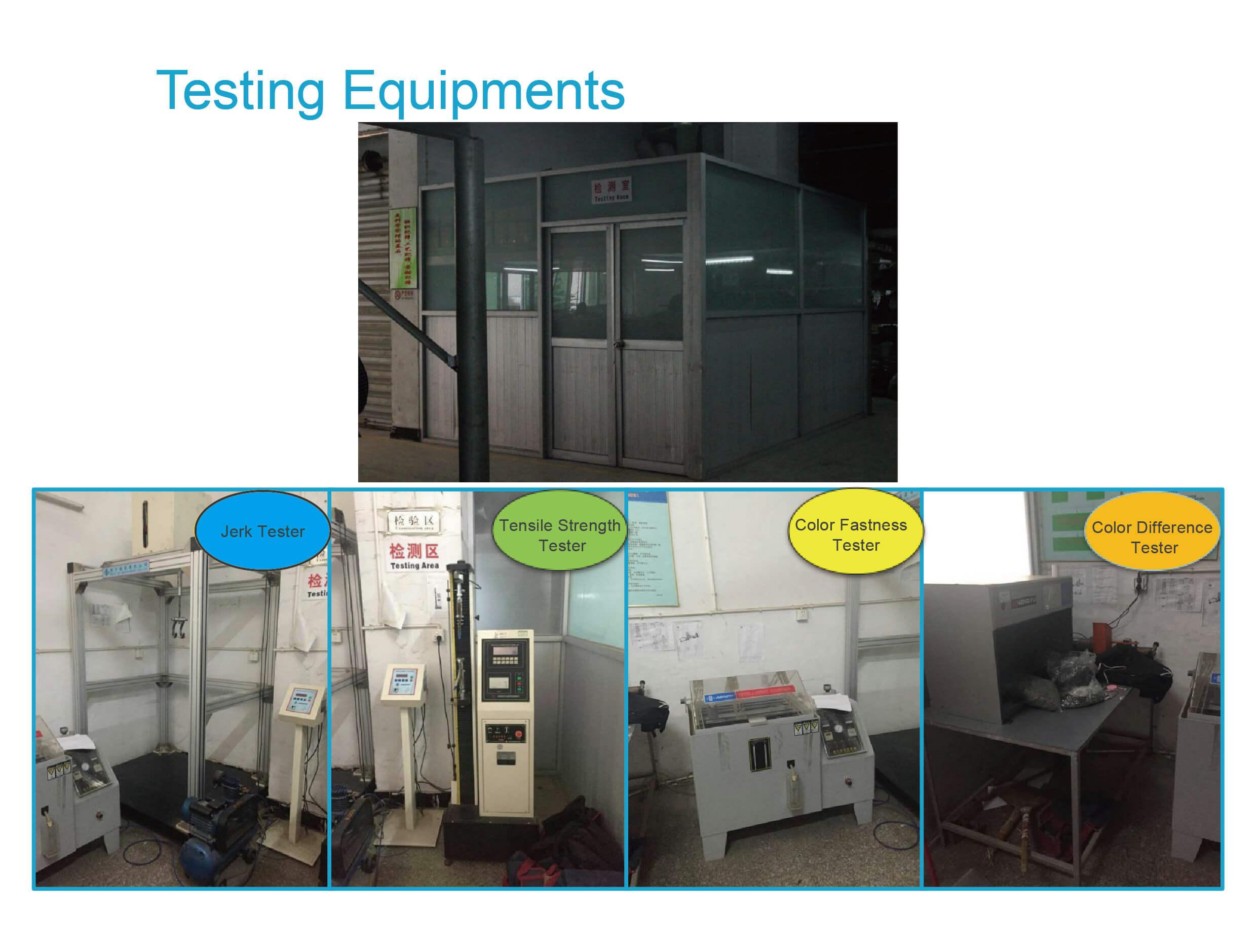 testing equirements