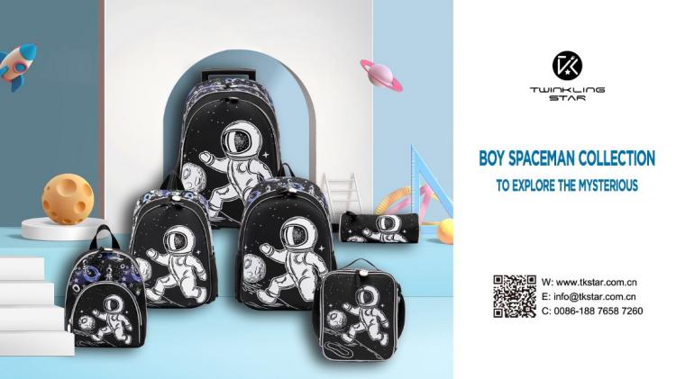 Twinkling Star Handbag|back to school bag for boys spaceman and planet